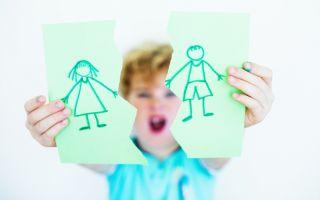 Как делить детей при разводе