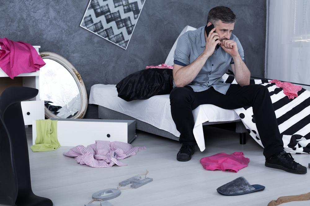Пережить развод мужчине