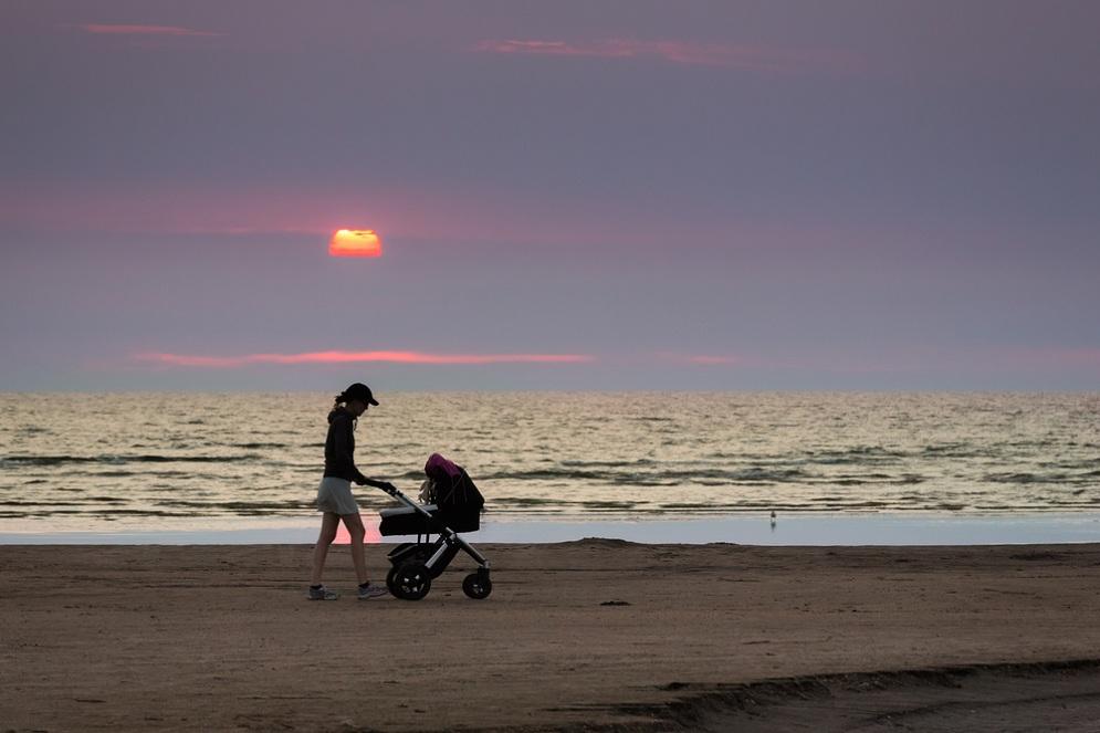 Как жить с младенцем после развода