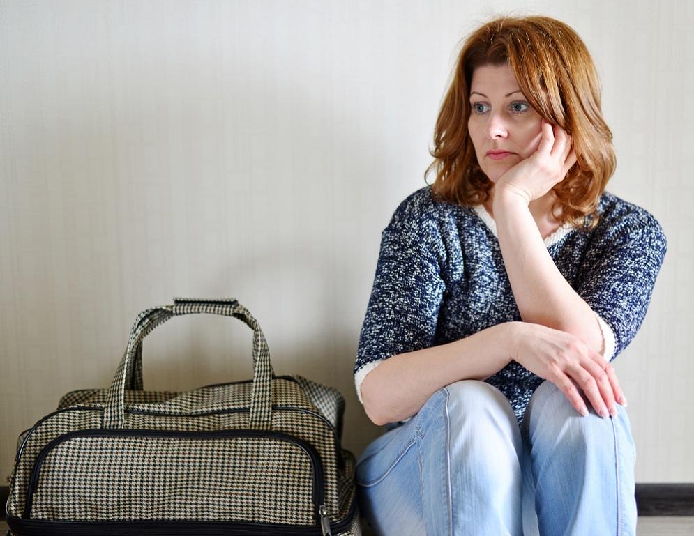 Жена решила уйти от мужа