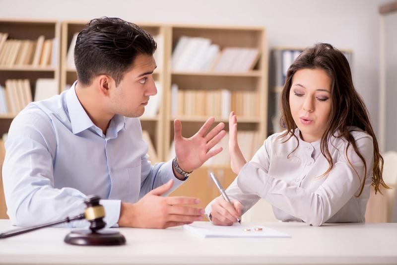 Жена не дает развод