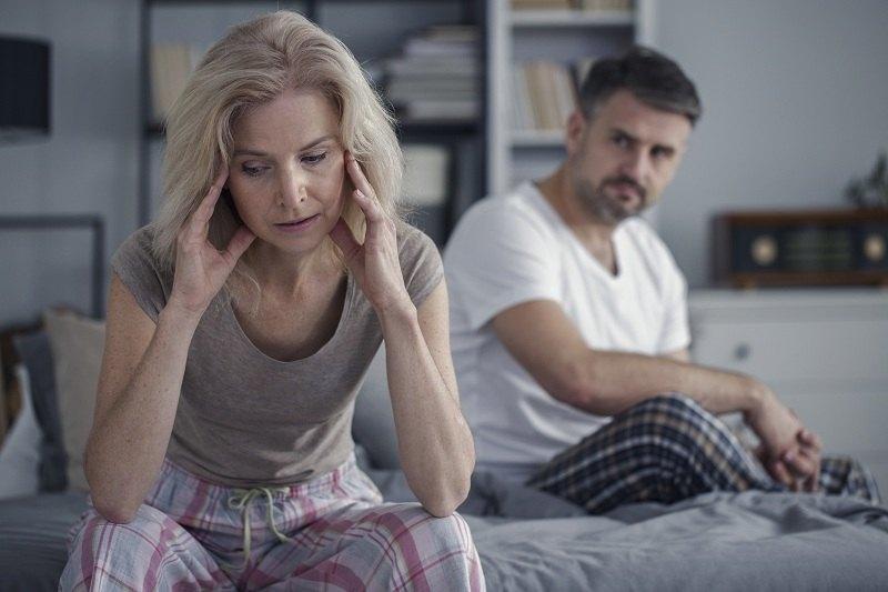 Женщина после 40 лет совместной жизни охладела к мужу