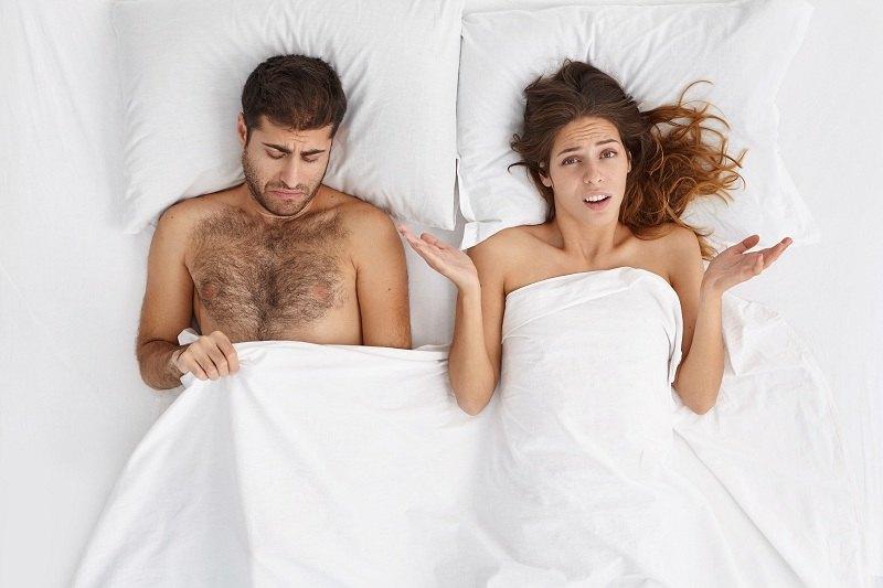 У мужа и жены разлад в интимной жизни