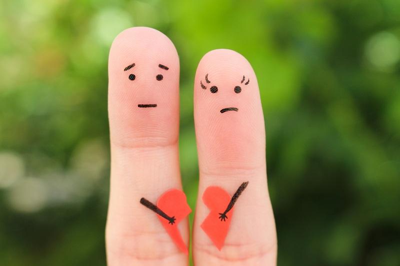 Жена с мужем приняли решение начать процедуру развода