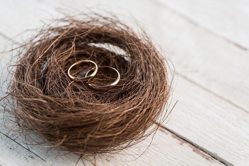 Кольца в гнездышке - как сохранить семью?