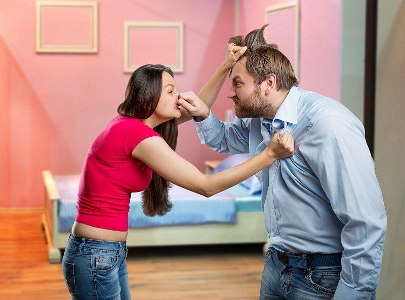 Супруги ссоряться