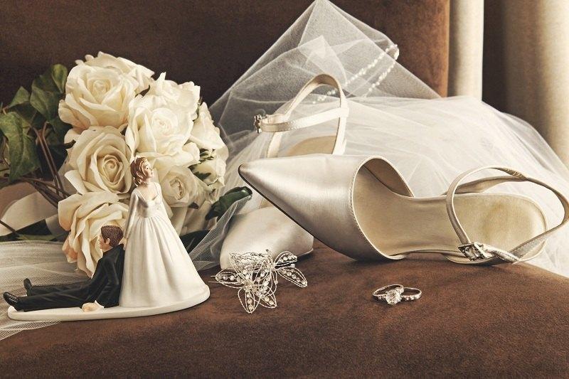 Венчальная атрибутика после развода