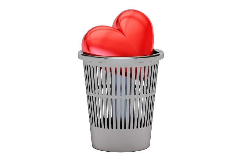 Разбитое сердце после предательства любимого