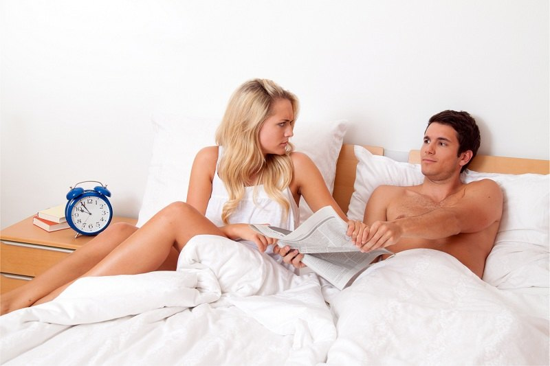 Муж и жена после долгих лет совместной жизни решили развестись