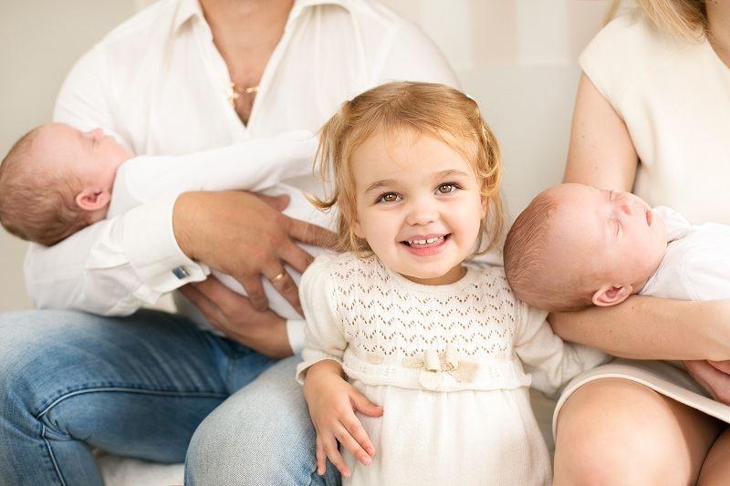 Общая раздражительность не помешала семье преодолеть кризис после рождения троих детей