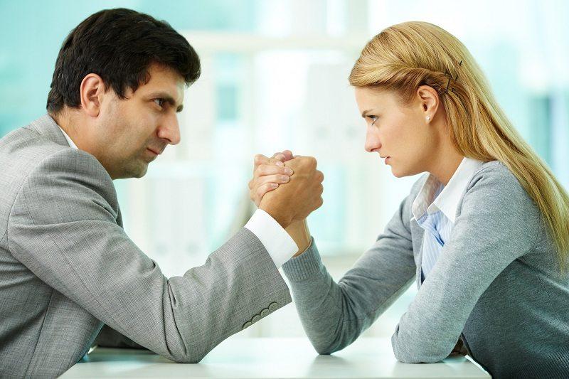 Когда муж с женой не уступают друг другу - это первый шаг к разводу