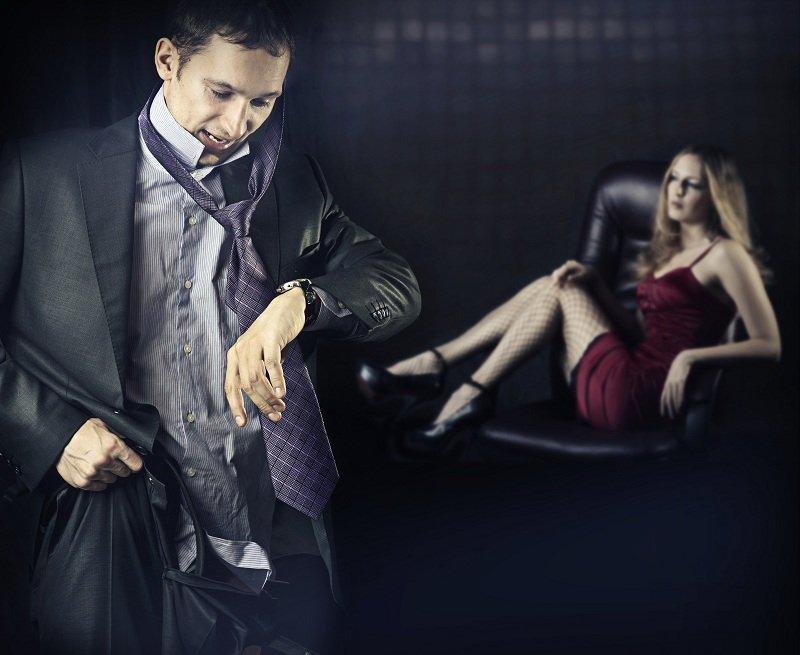 Мужчине тяжело расстаться со своей любовницей